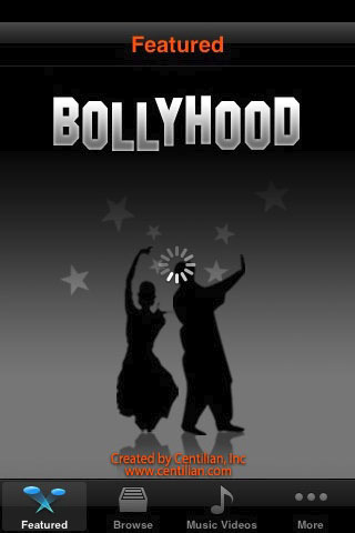 Bollyhood iphone app2