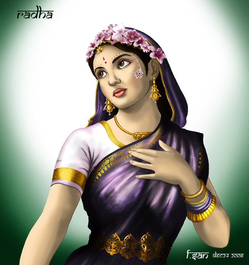 Radha by lord fsan